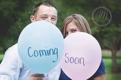 """Or change the wording to say the date. """"Ready to pop... August 28, 2015"""" """"We're expecting... August 28, 2015"""""""