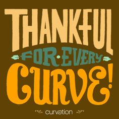 09ca1b927e484 Thankful for every curve! Curvation · The Shape of Beauty