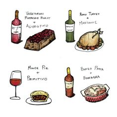 If this winter's adventure involves cooking some holiday classics, I'd like to offer 10 unique wine pairings that will make everything a bit more joyous. Wine Folly, Frozen Grapes, Sweet Wine, Mince Pies, Christmas Pudding, Apple Desserts, Favorite Holiday, Wine Tasting, Wine Recipes