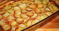 Potatoes with bacon and courgettes # food recipes cooking Trout Recipes, Fried Fish Recipes, Russian Dishes, Russian Recipes, Good Food, Yummy Food, Shellfish Recipes, Winter Food, Winter Meals