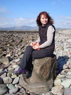 Rosemary Hill, on the rocks. (Photo courtesy Rosemary Hill)