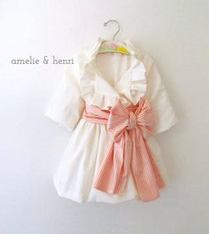 Instant Download- New Amelie's Pleated Ruffle Jacket Sizes 3 months - girls 10