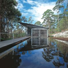 To celebrate Pritzker Prize-winning architect Glenn Murcutt being named this year's MPavilion designer, here's a look at seven of his significant projects. Architecture Design, Australian Architecture, Architecture Student, Tropical Architecture, Architecture Collage, Residential Architecture, Norman Foster, Alvar Aalto, Serpentine Pavilion
