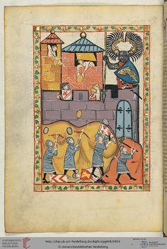 another fleur-de-lys issuant from a pair of bendlets!    Cod. Pal. germ. 848: Große Heidelberger Liederhandschrift (Codex Manesse) (Zürich, ca. 1300 bis ca. 1340) (Cod. Pal. germ. 848)