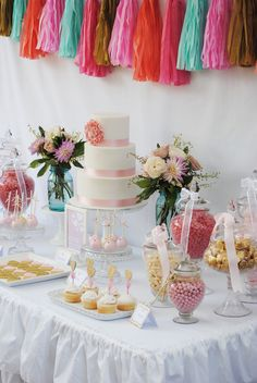 Pink, Gold with touch of blue Valentine's Day Party Ideas | Photo 5 of 17