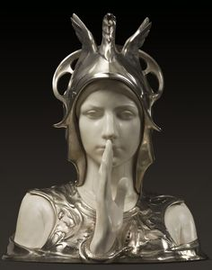 VINTAGE BLOG: Charles Van der Stappen : Le Sphinx Mystérieux 1897