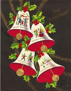 It's Christmas! #vintage #Christmas #cards