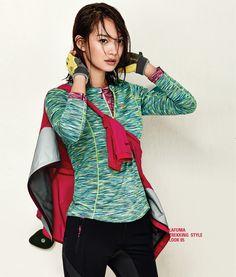 Lafuma S/S 2015 Ads With Shin Min Ah | Couch Kimchi