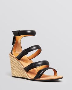Marc By Marc Jacobs Open Toe Espadrille Wedge Sandals - Seditionary