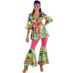 Déguisement Hippie Chic Femme 70's Magic Peace Luxe