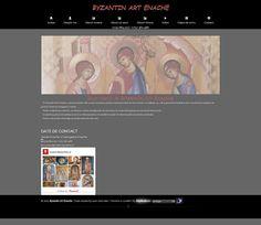 Icoane bizantine, Pictura bisericeasca, Pictura Al-Seco, Pictura Fresca | Byzantin Art Enache