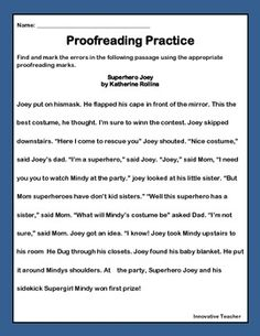 Printables Proofreading Worksheets Middle School lesser known editing and proofreading marks so funny love marks