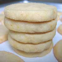 Low Cal Lemon Refrigerator Cookies