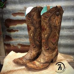 The Mesas – Embroidered snip toe cowboy boot from Savannah Sevens Western Chic