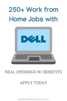Dell's CEO - 'I want half of Dell's employees working from home by Home Based Jobs, Work From Home Jobs, Michael Dell, Account Executive, Work From Home Opportunities, Rat Race, Software Development, New Job, Don't Forget