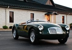 Learn more about Former Exclusive: Enhanced 1958 MGA Roadster on Bring a Trailer, the home of the best vintage and classic cars online. British Sports Cars, Vintage Sports Cars, Classic Sports Cars, Classic Cars Online, Retro Cars, Vintage Cars, Antique Cars, Convertible, Mg Cars