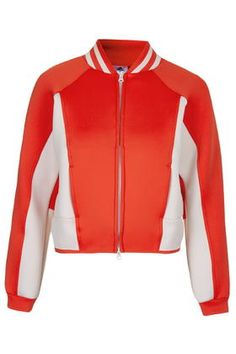 d236556875f5 **Sport Spacer Bomber Jacket by adidas StellaSport Sporty Chic, Cool Bomber  Jackets,