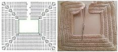 Risultati immagini per ganchillo crochet nina 5 años Crochet Cape, Crochet Quilt, Crochet Scarves, Crochet Motif, Crochet Stitches, Knit Crochet, Crochet Patterns, Barbie, Crochet Baby Clothes