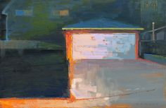oil by william wray.    so simple, minimal.  i think it takes courage to paint this good.