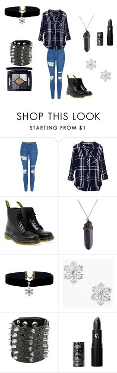 """""""my bffff"""" by fashion-life4me on Polyvore featuring Topshop, Rails, Dr. Martens, Talbots, Lipstick Queen and Christian Dior"""