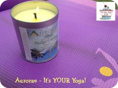 Aurorae Yoga Northern Lights Mat and Pledge Candle #Review