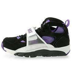 online retailer cb54f e886d Nike Air Trainer Huarache Black Club Purple Platinum   Kicks Store Ltd