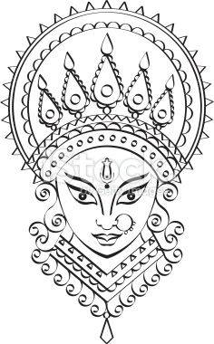 stock-illustration-8643568-goddess-durga-kali.jpg (236×380)