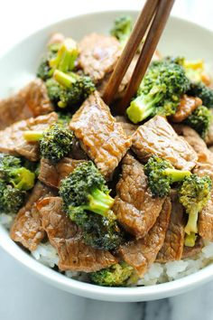 Easy Beef + Broccoli.