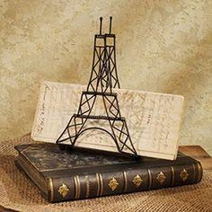Eiffel Tower - Napkin/Mail Holder - Metal & Wire null http://www.amazon.com/dp/B009FPMOU0/ref=cm_sw_r_pi_dp_xsaswb1RWH1T2