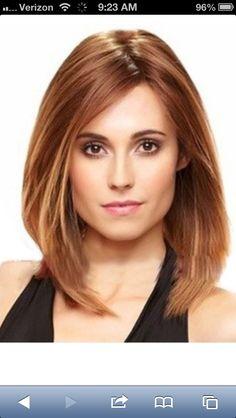 Light Auburn Hair...finally the auburn hair for women with brown eyes