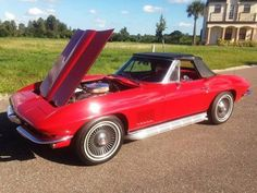1967, Chevy Corvette Roadster  Overall this is a very solid original driver corvette you can take out and enjoy. Its a 67, its red and its a convertible. I'm asking $53000 Negotiable. As for the trade offers my past experience with the last 66 I sold, none of the offers are any where close to equal value your welcome to offer, but my main priority is to sell it - See more at: http://www.cacars.com/1002768.html#sthash.cdLDBp8m.dpuf