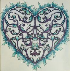 Johanna Basford Johanna's Christmas Heart by Wendy