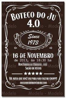 Atelier Karla Milani: Festa Boteco - 4.0 do Junior