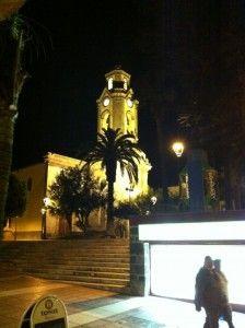 Church in the old town of Puerto de la Cruz Tenerife