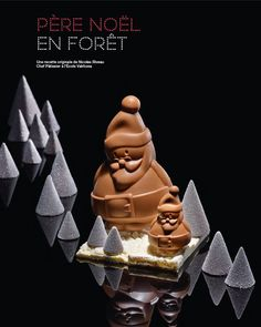 Les Recettes de l'Ecole Valrhona - Père Noël en Forêt