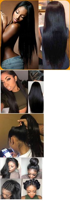 Other Extensions and Wigs: Glueless Brazilian Silky Straight 100 Human Hair Lace Front Wig Full Lace Wigs -> BUY IT NOW ONLY: $155 on eBay!
