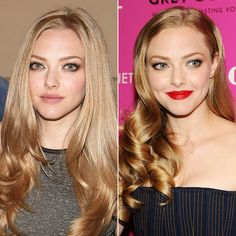 Amanda Seyfried Hair | Lovelace Red Carpet - Perfection as always!  Love the lip swapped out for day to night while keeping the same eye look.