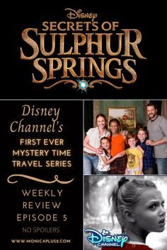 Disney Channel's First Mystery Series Is A Must Watch. Get a spoiler free review of episode 5 coming this Jan 29th Disney Secrets, Disney Tips, Disney Fun, Disney World Vacation Planning, Disney Vacations, Best Books To Read, Good Books, Time Travel Series, Sulphur Springs