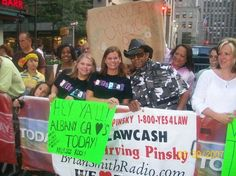 Me & Joycie at the Today Show with Lenny. Such a fun fun day!