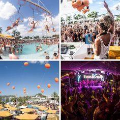 From pool parties to superclubs, find out where Ibiza's top parties are this year.