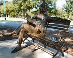 Mark Twain in Trinity Park