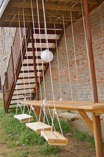 fun outdoor seating