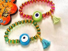 SALE GYPSY AMULET Bracelets Turkish Evil Eye by Nezihe1 on Etsy