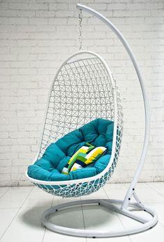 Charmant Columpios Y Sillas Colgantes Para El Jardín   50 Ideas. Kids Hanging ChairSwinging  ...