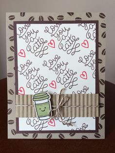 From the Lawn Fawn collection - Love You A Latte.  Visit my blog at www.tiffanyscardtique.blogspot.com
