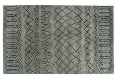 5'x8' Ithaca Rug, Stone Gray on OneKingsLane.com
