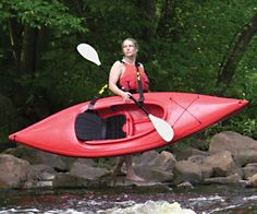 """The Klip-n-Go kayak strap is the only secure solid, padded option for safely carrying your kayak. Plus it """"keeps your bottom smooth"""" >wink<"""