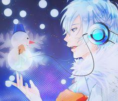 Christmas Anime boy Vocaloid Kaito | Christmas Anime | Pinterest ...
