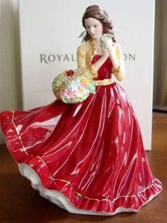 Royal Doulton Pretty Ladies Charlotte Figurine HN 5382 NEW | eBay