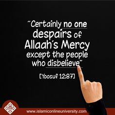Allah's Mercy is limitless, so don't limit yourselves in seeking it. #Allah #Mercy #Follow #Islam #Sunnah
